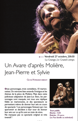 Ticket culture : spectacle au Grand-Lemps