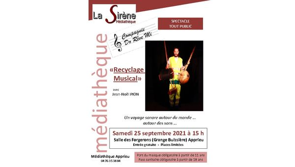 Recyclage musical - 25/09/2021