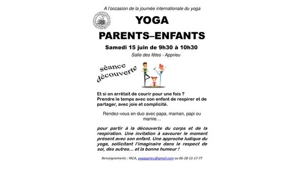 YOGA: PARENTS-ENFANTS