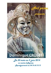 Affiche expo Croset